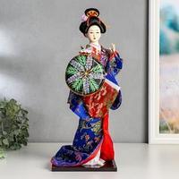 Кукла коллекционная 'Гейша с веткой сакуры'