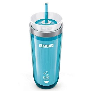 Стакан для охлаждения напитков Iced Coffee Maker, голубой