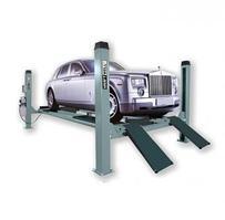Подъемник четырехстоечный г/п 6500 кг. платформы для сход-развала KraftWell KRW6.5WA