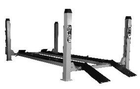 Подъемник четырехстоечный г/п 4500 кг. платформы для сход-развала KraftWell KRW450AT