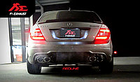 Выхлопная система Fi Exhaust на Mercedes-Benz W204 C250, фото 1