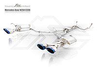 Выхлопная система Fi Exhaust на Mercedes-Benz W204 C280 / C300 / C350, фото 1