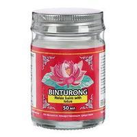 Успокаивающий бальзам для тела с лотосом Binturong, от мышечного напряжения и укусов насекомых, 50 г