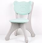 Пластиковые столик + 4 стула, фото 2