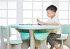 Пластиковые столик + 4 стула, фото 3