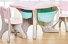 Пластиковые столик + 4 стула, фото 4