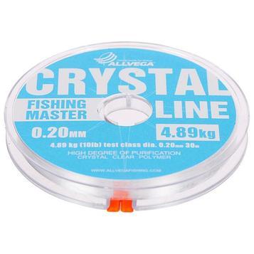 Леска монофильная Allvega Fishing Master CRYSTAL, 30 м, 0,20 мм (4,89 кг)