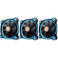 Вентилятор для корпуса Thermaltake Riing 12 LED Radiator Fan Blue 3 Pack, CL-F055-PL12BU-A