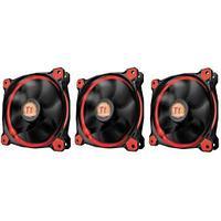 Вентилятор для корпуса Thermaltake Riing 12 LED Radiator Fan Red 3 Pack, CL-F055-PL12RE-A