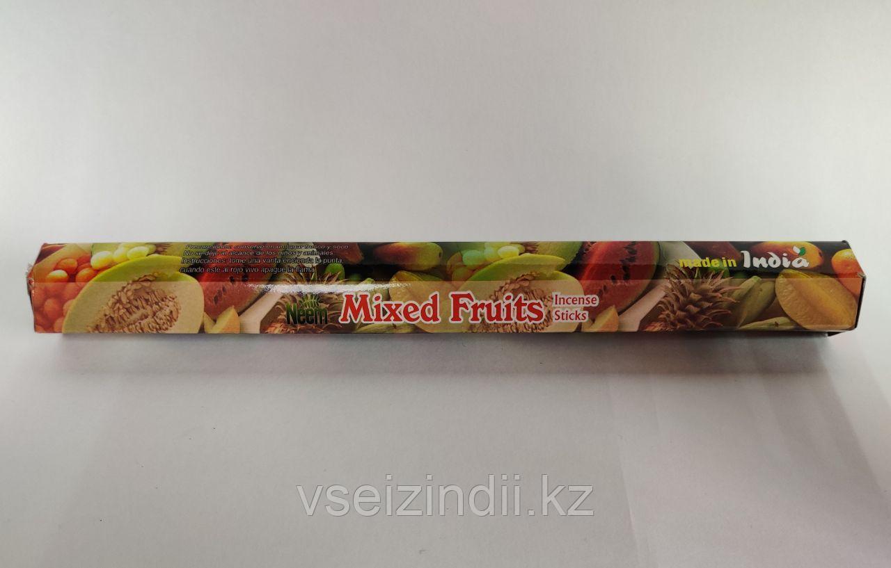 Благовония угольные Фруктовый микс / Mixed Fruits, 15 шт