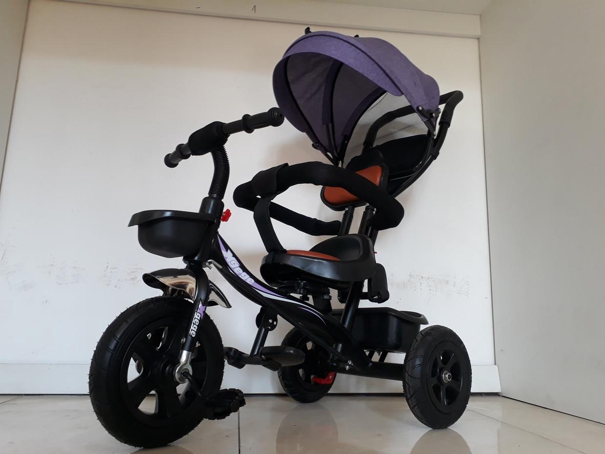 """Велосипед трехколесный детский """"Xgege"""" с родительской ручкой. Kaspi RED. Рассрочка"""