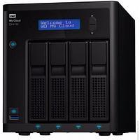 Дисковая системы хранения данных СХД Western Digital My Cloud Pro PR4100 WDBKWB0000NBK-EEUE (Tower)
