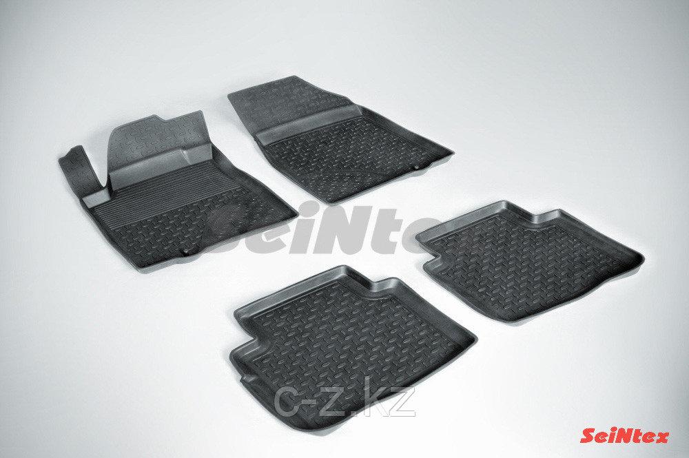 Резиновые коврики с высоким бортом для Nissan Teana (J32) 2008-2014