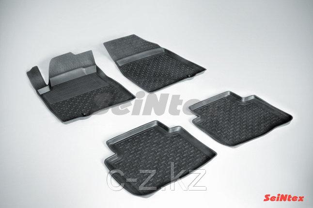 Резиновые коврики с высоким бортом для Nissan Teana (J32) 2008-2014, фото 2
