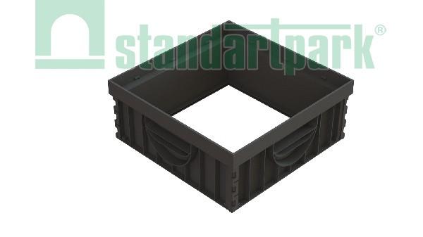 Надставка пластиковая на дождеприемник НДП-30.30-ПП