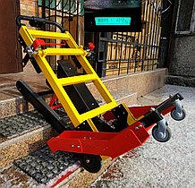Подъемник лестничный, гусеничный для инвалидов, электрический, мобильный 24v 200w, новая модель: YHR-LD02.
