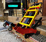 Подъемник лестничный, гусеничный для инвалидов, электрический, мобильный 24v 200w, новая модель: YHR-LD02., фото 3