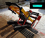 Подъемник лестничный, гусеничный для инвалидов, электрический, мобильный 24v 200w, новая модель: YHR-LD02., фото 4
