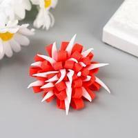 Декор для творчества 'Астра с острыми лепестками' красная (комплект из 30 шт.)
