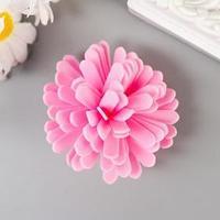 Декор для творчества 'Пион' розовый d 4 см (комплект из 30 шт.)