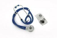 Стетоскоп мед Biotone® Rappaport синего цвета, черный цвет