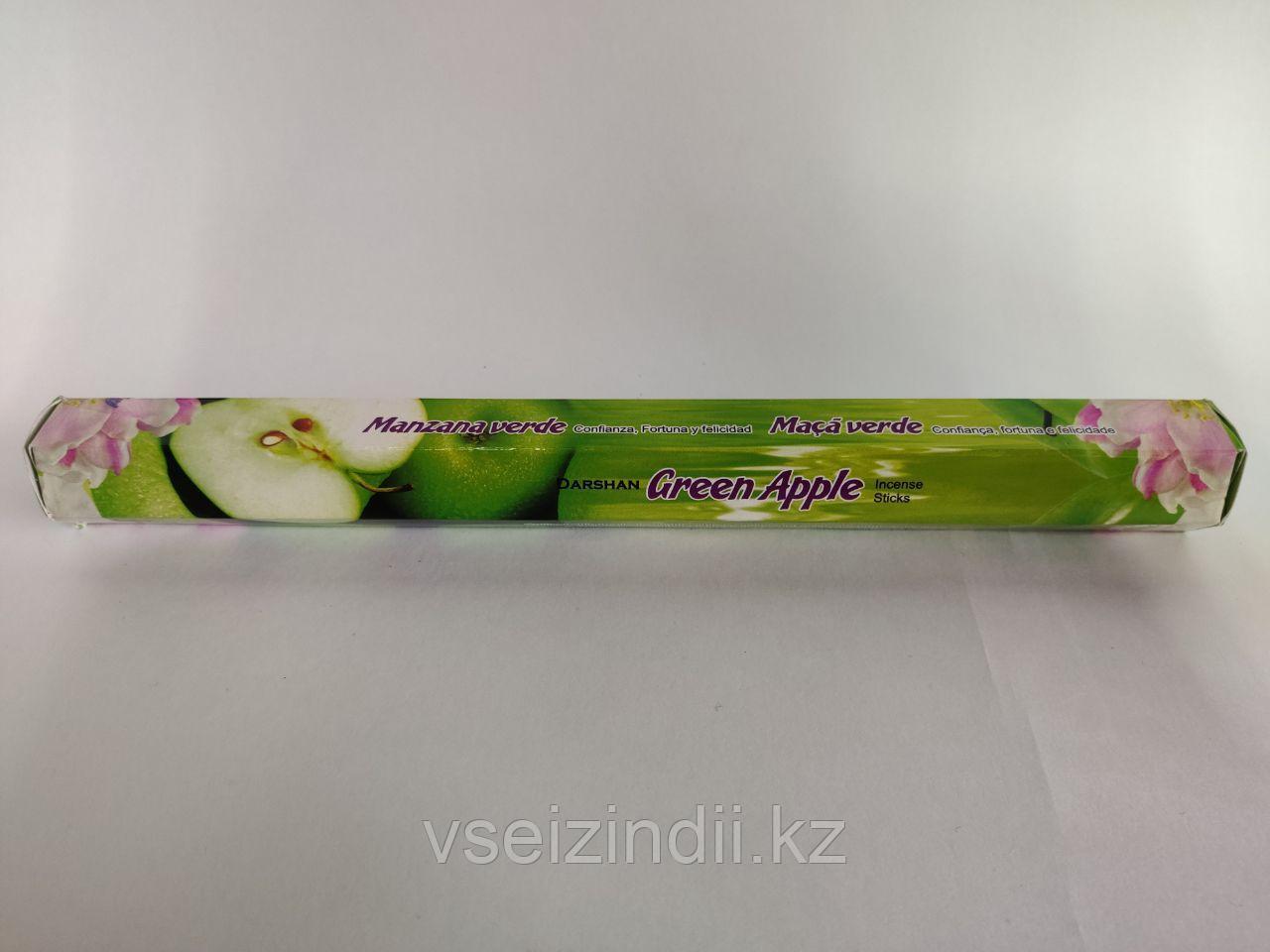 Благовония угольные Зеленое яблоко / Green Apple, 20 шт