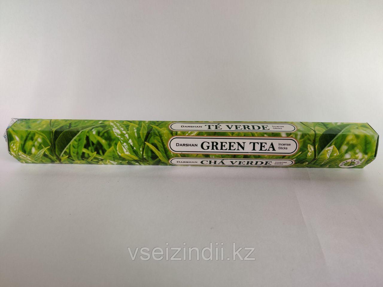 Благовония угольные Зеленый чай / Green Tea, 20 шт