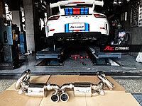 Выхлопная система Fi Exhaust на Porsche 991 GT3, фото 1