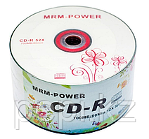 Диск MRM-Power CD-R 700MB 52х 50 шт