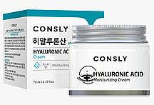 Consly Увлажняющий Крем для лица с гиалуроновой кислотой Hyaluronic Acid Moisturizing Cream / 70 мл.