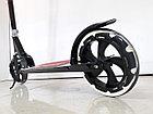 Складной двухколесный самокат Scooter для подростков с большими колесами, фото 6