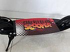 Складной двухколесный самокат Scooter для подростков с большими колесами, фото 8