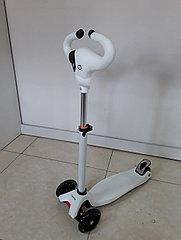 Трехколесный детский самокат Scooter для детей Коровка