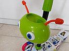 Четырехколесный детский самокат Scooter для детей Мордашка. Рассрочка. Kaspi RED., фото 4