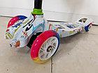 Четырехколесный детский самокат Scooter для детей Мордашка. Рассрочка. Kaspi RED., фото 6