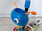Оригинальный четырехколесный детский самокат Scooter для детей Мордашка. Рассрочка. Kaspi RED., фото 3