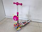 Четырехколесный детский самокат Scooter для детей Мордашка. Оригинал 100%. Рассрочка. Kaspi RED., фото 4