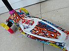 Четырехколесный детский самокат Scooter для детей Мордашка. Оригинал 100%. Рассрочка. Kaspi RED., фото 7