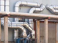 Воздуховоды (венткороба) вентиляции круглые спирально - навивные из оцинкованной стали тольщ, 0,9 мм