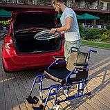 Кресло-коляска для инвалидов Армед H 040 с подушкой сиденья (18 дюймов), фото 2