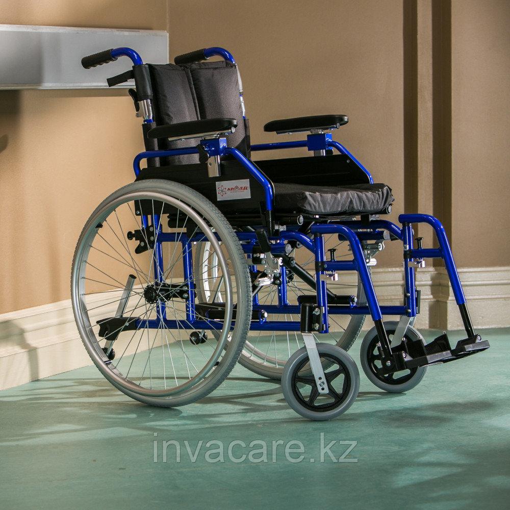 Кресло-коляска для инвалидов Армед H 040 с подушкой сиденья (18 дюймов)