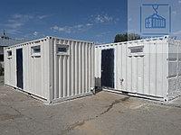 Санитарный контейнер для строителей на базе 20фут., фото 1