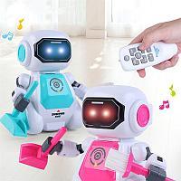Танцующий Робот с дистанционным управлением 2629 розовый