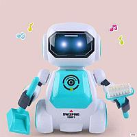 Танцующий Робот с дистанционным управлением 2629 голубой