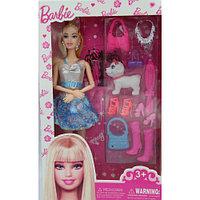 """Кукла Барби """"Модная штучка с питомцем"""""""