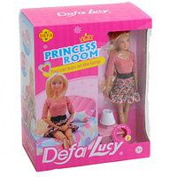 Комната принцессы с куклой Defa Lucy