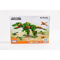 Конструктор GUDI динозавры 8754