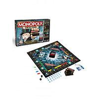 Hasbro B6677121 Игра настольная Монополия Банк без границ