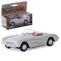 Welly 42360С Велли Модель машины 1:34-39 Old Timer 1957 Chevrolet Corvette