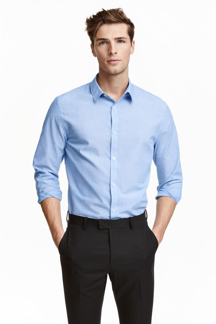 H&M Мужская рубашка - Е2 L